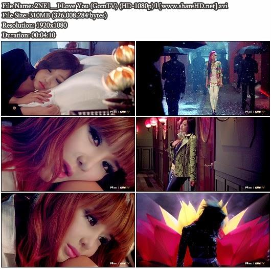 Download MV 2NE1 - I Love You (GomTV Full HD 1080p)