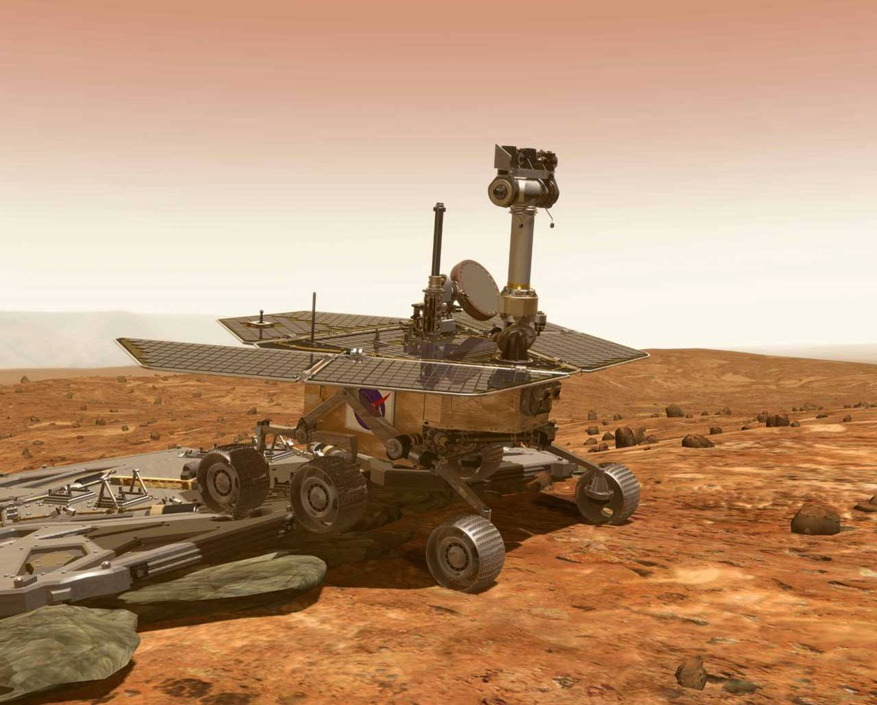 Vintage Technology Obsessions: Opportunity Rover Ninth ...