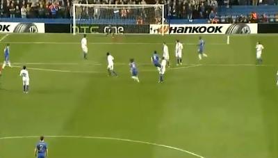 Golo David Luiz no Chelsea - Basileia