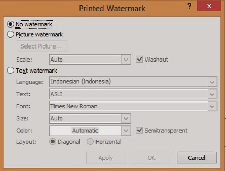 gambar tampilan custom watermark-printed watermark