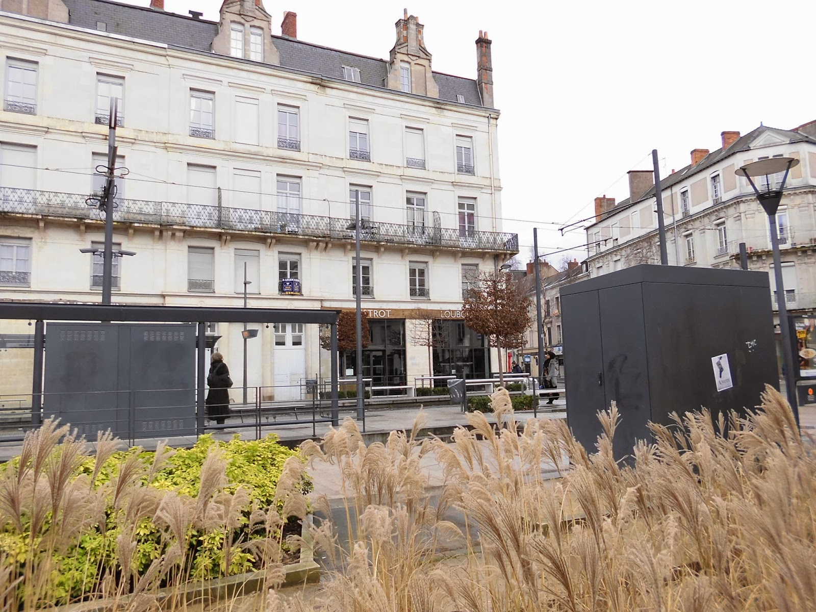 A Few Years Ago, The Molière Square Was Only An Ugly Parking Lot And A  Noisy Crossroads Of Cars And Buses. It Was Even Worse During The Works Of  The First ...