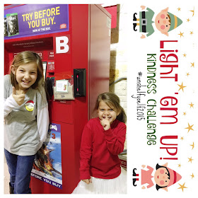 Elf on the Shelf Kindness Challenge - Light 'em Up!