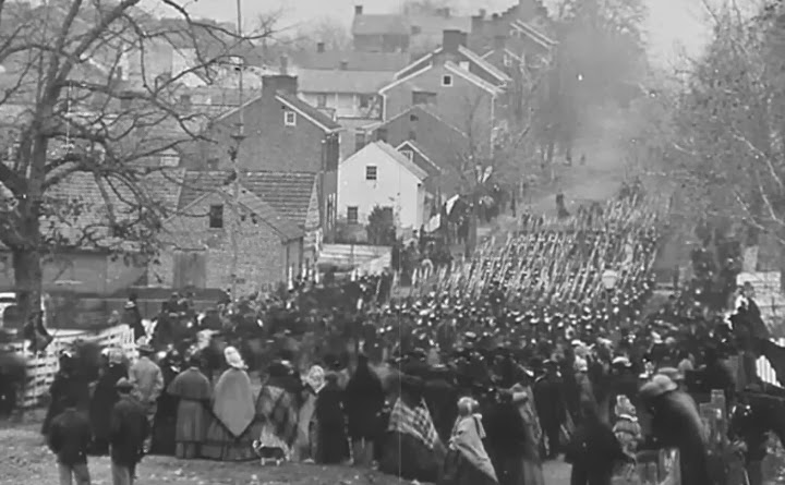 the gettysburg address an intellectual persuasion I was teaching american intellectual history at ucla the persuasion came as the you mentioned the myth about lincoln writing the gettysburg address on the.