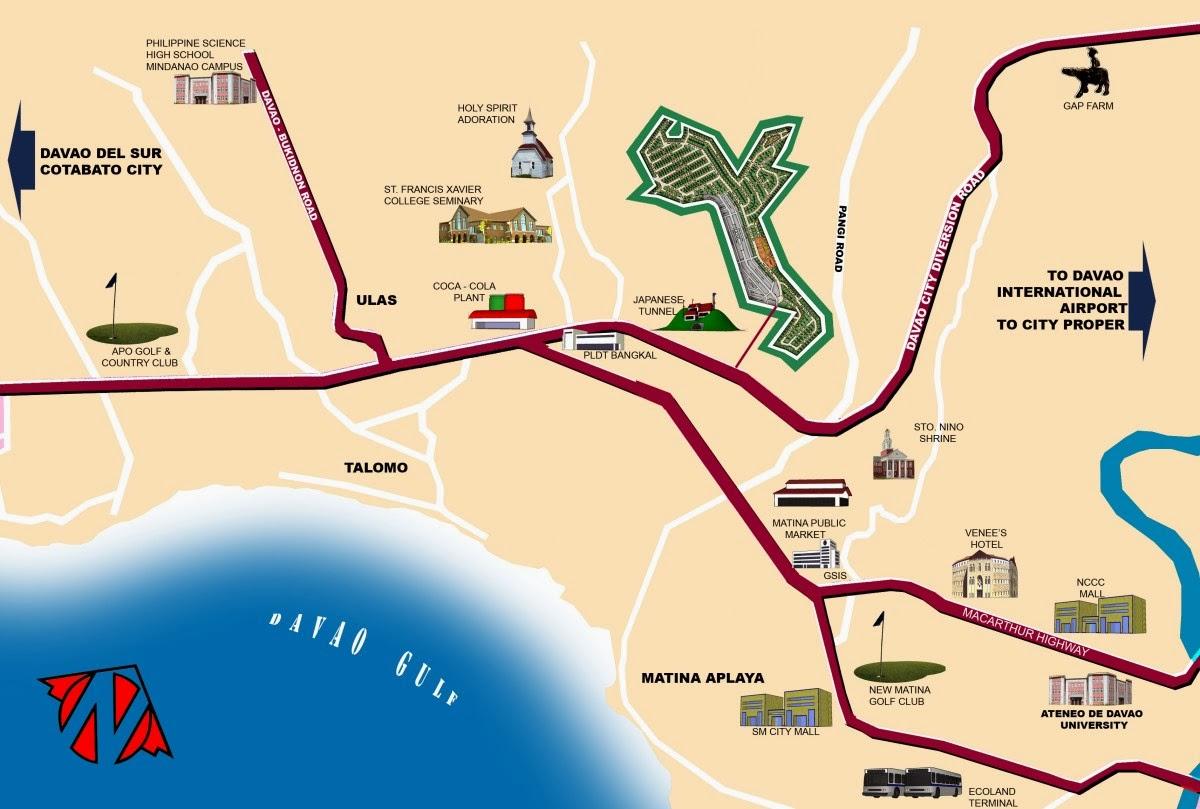 La Vista Monte Vicinity Map