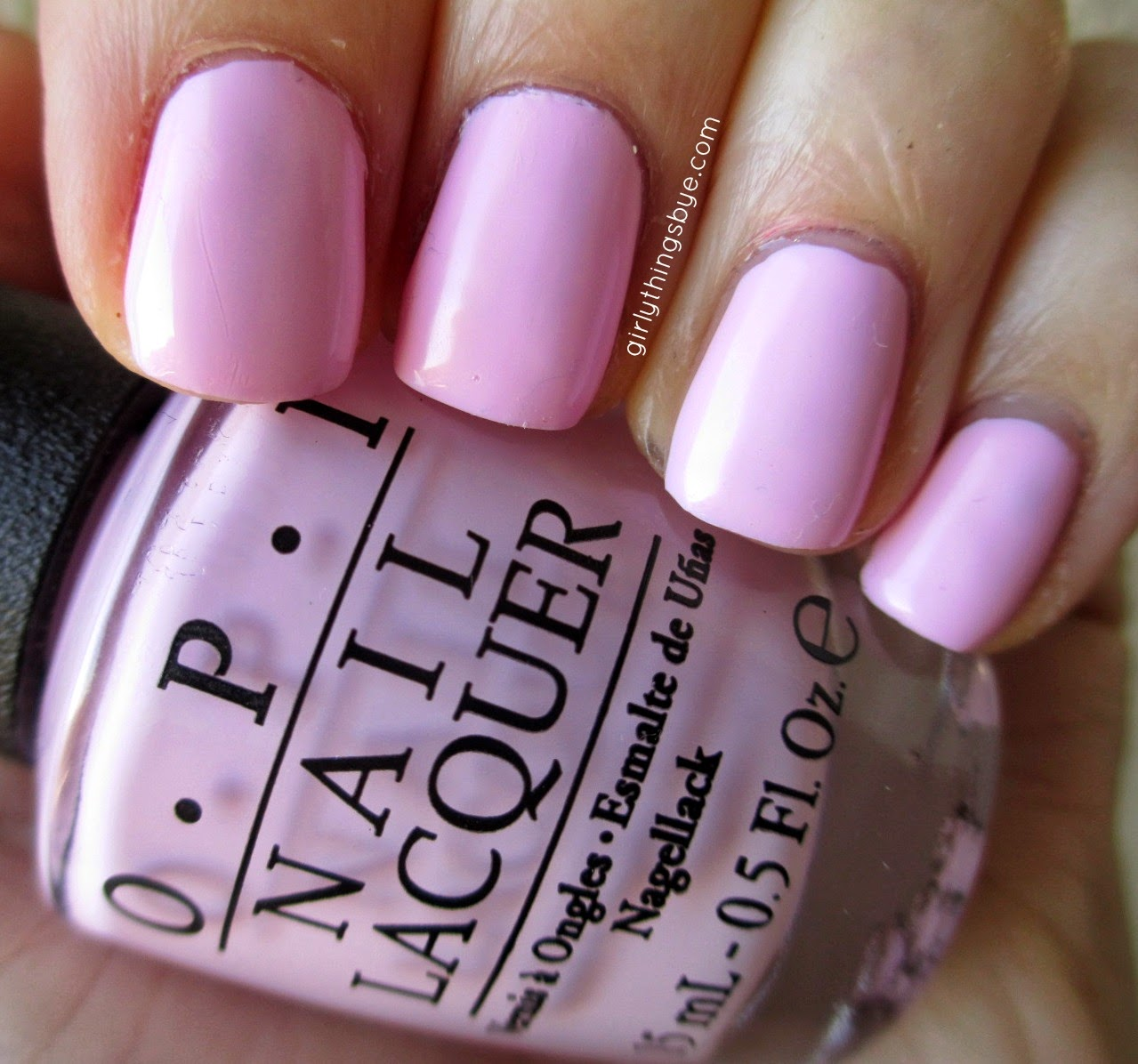 OPI Mod About You, @girlythingsby_e, swatch