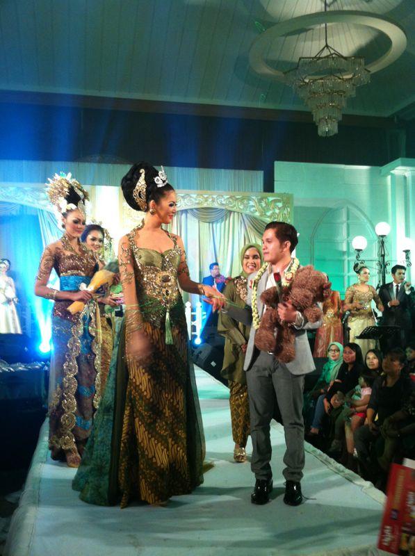 Lucky hakim wedding
