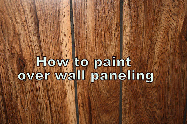 How to paint paneling binkies and briefcases Can you paint wood paneling