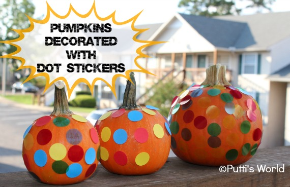 Pumpkins Stickers Kids Fall