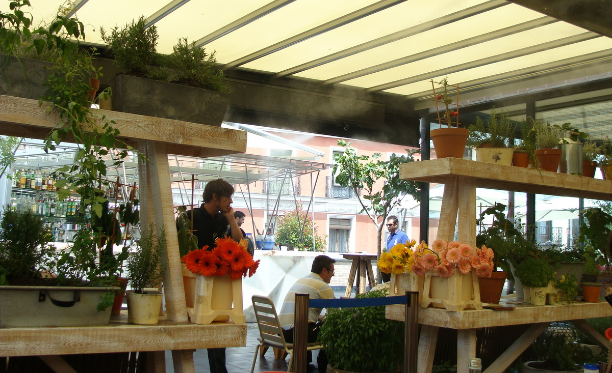 El mercado de san ant n planes para un verano en madrid - Cocina de san anton ...