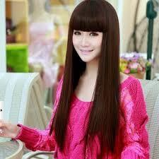 Gaya dan model rambut panjang wanita terbaru