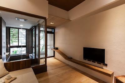 Interior rumah gaya jepang modern
