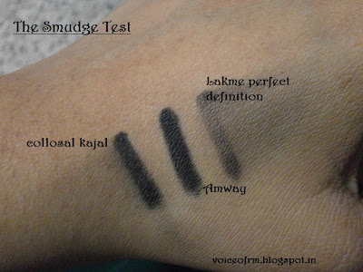 Amway Attitude Eye Pencil Kajal in Coal Swatch