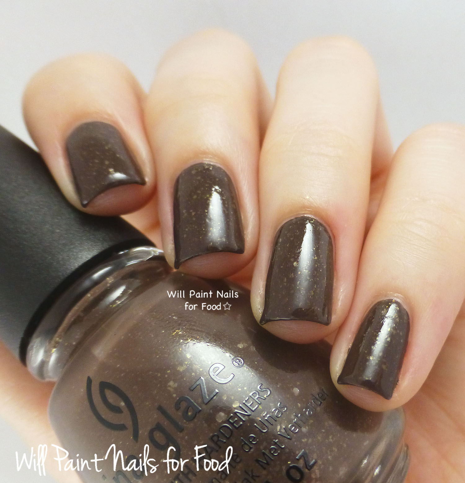 China Glaze Lug Your Designer Baggage swatch