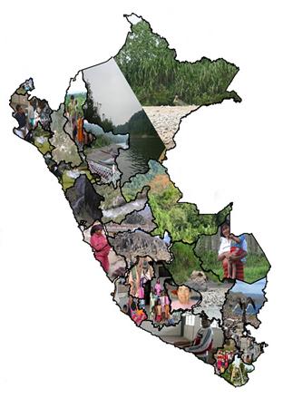 mapa comunidad nativa