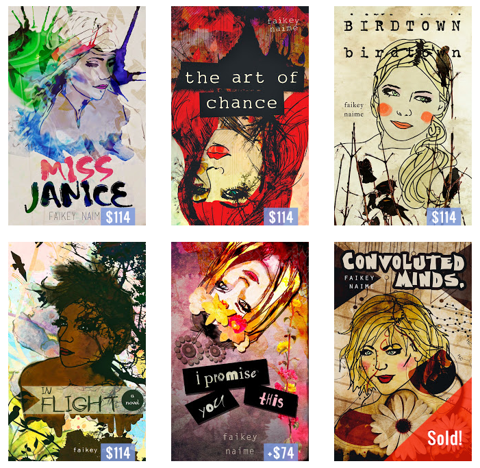 Illustrated Book Cover Names : Kat mellon writing design custom illustrated book covers