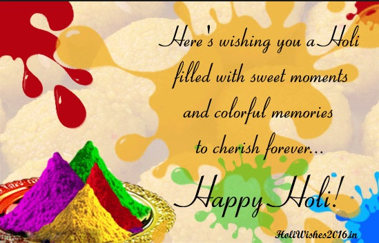 Happy holi whatsapp Shayari
