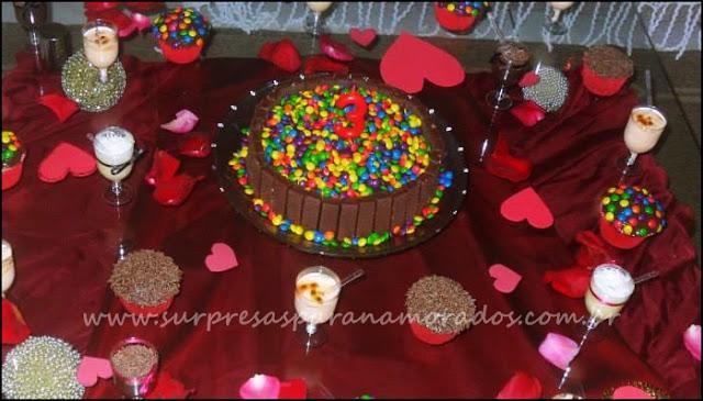 bolo aniversário de 3 anos de namoro