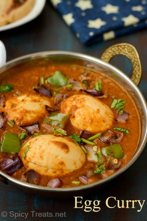 Capsicum Egg Curry