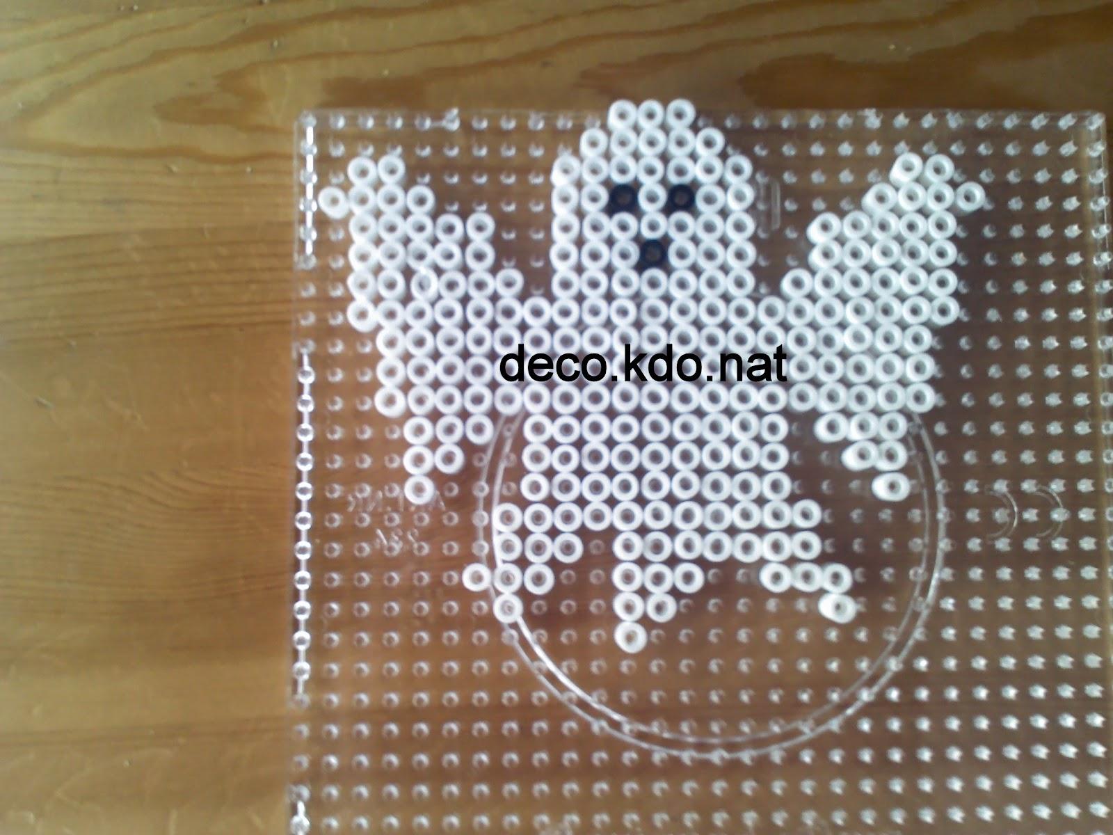 Decokdonat Perles Hama Halloween Petit Fantôme