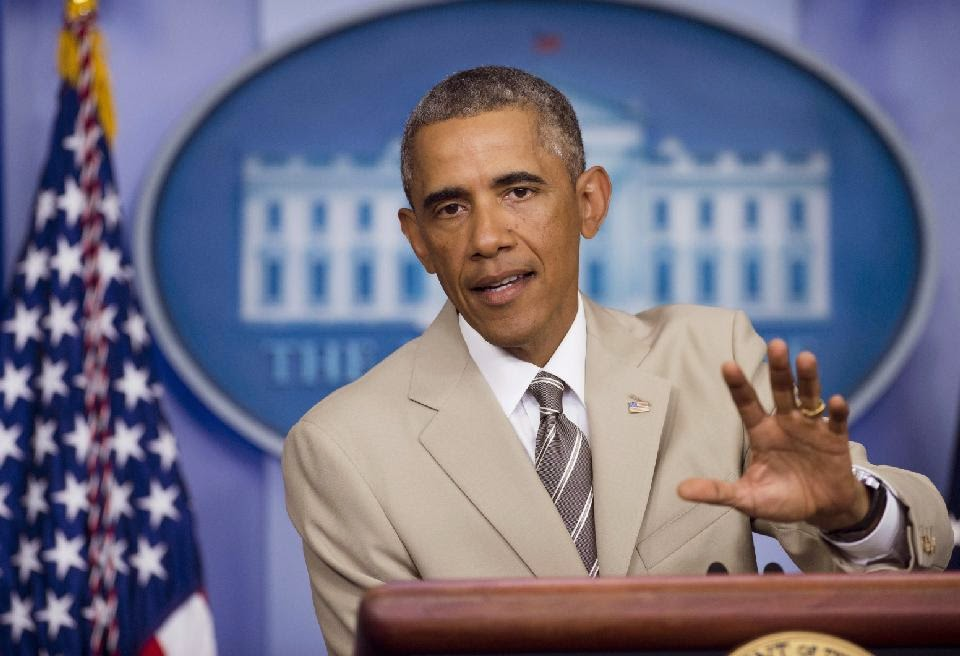 'The audacity of taupe': Obama suit creates sartorial stir
