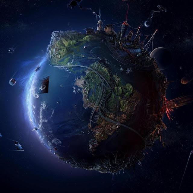 ILustrasi Masa Depan Dunia