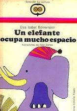 Un elefante ocupa mucho espacio ELSA BORNEMANN