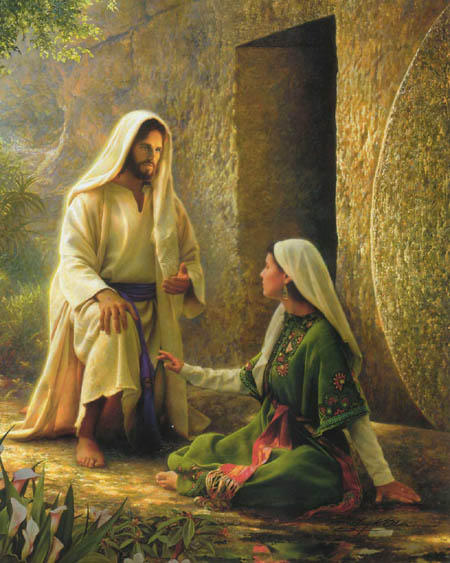 foundations of my faith jesus appears to mary magdalene