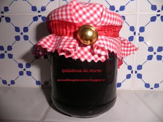 gelatina di mirto