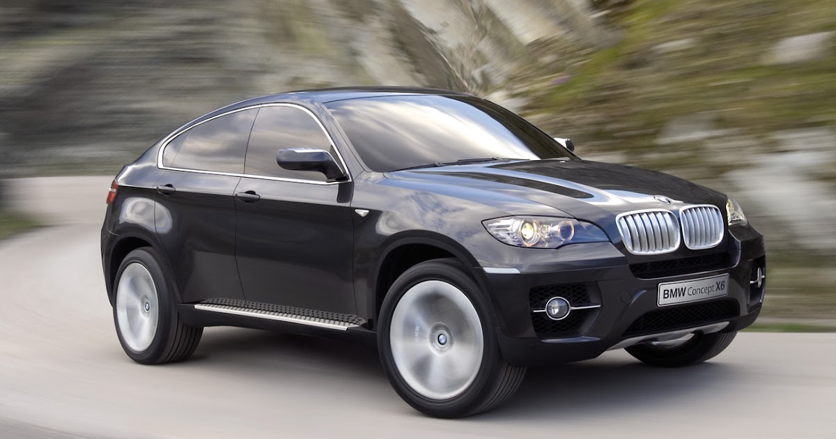 Bmw X6 M Global Hybrid Concept And Engine