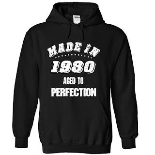 Made In 1980 Hoodie