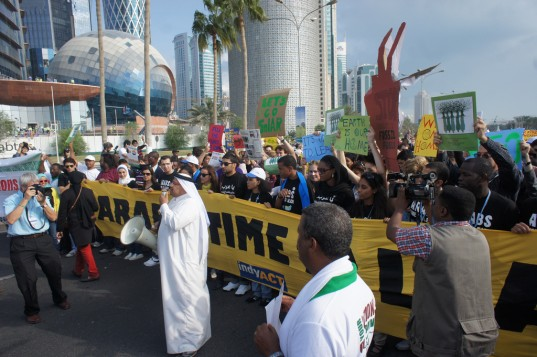 Video: Aksi Kreatif Aktivis Lingkungan di COP Doha