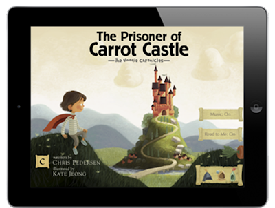 The Prisoner of Carrot Castle iPad App