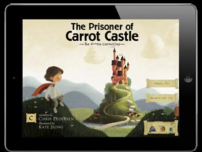 The Prisoner of Carrot Castle iPad App