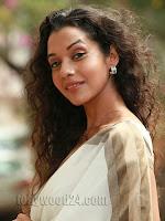 Anu Priya latest Glamorous Photos in Saree-cover-photo