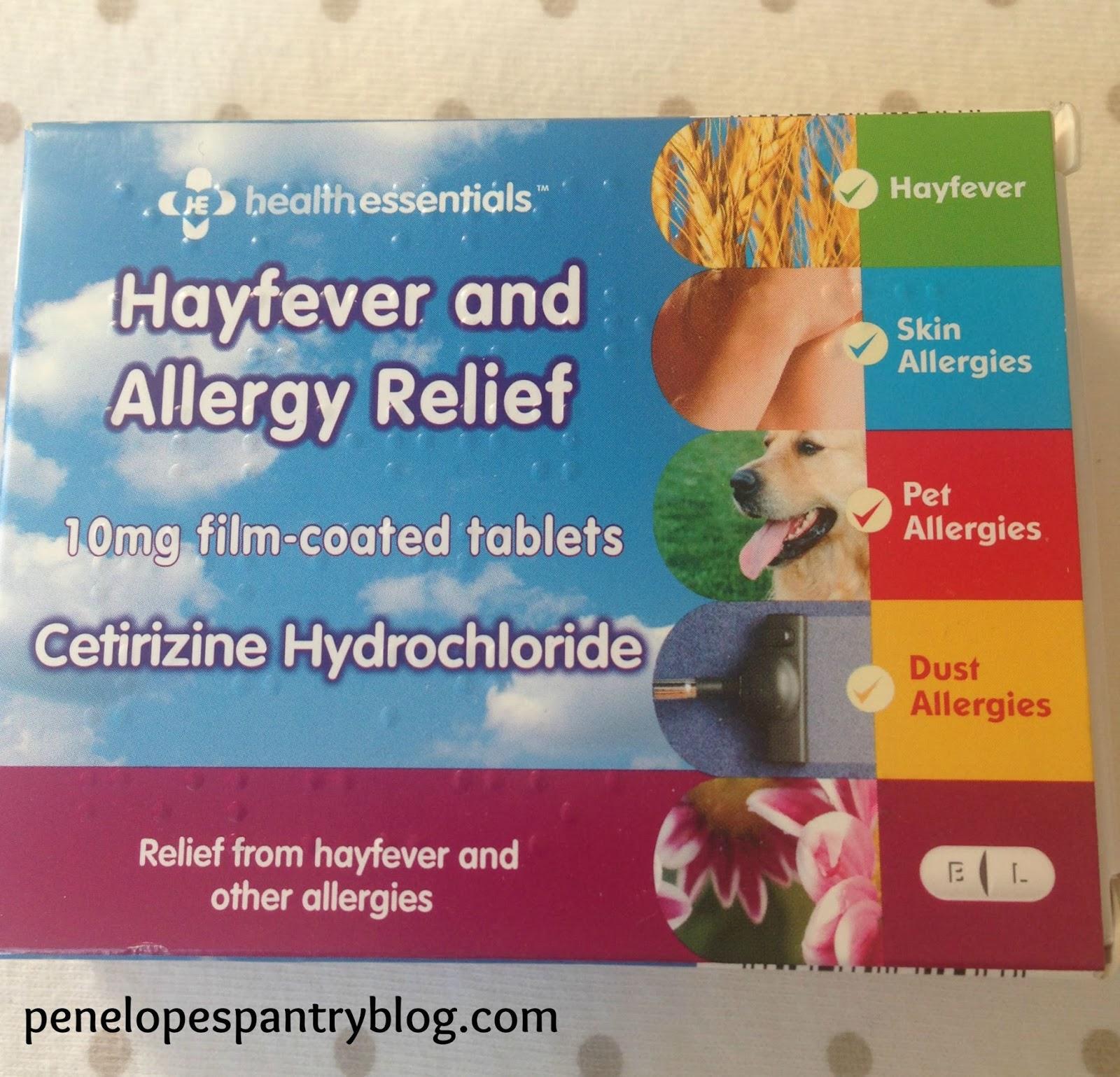 Penelope\'s Pantry: My allergy essentials