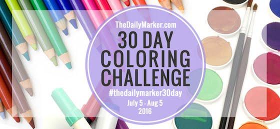 30 day marker challenge