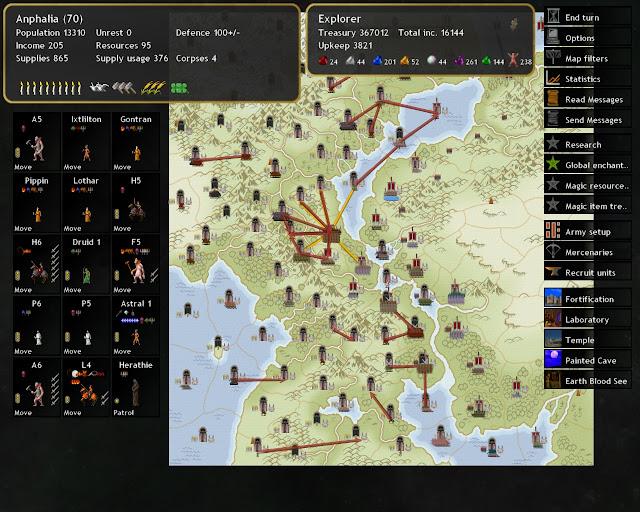 Dominions 4 - Plan Set Screenshot