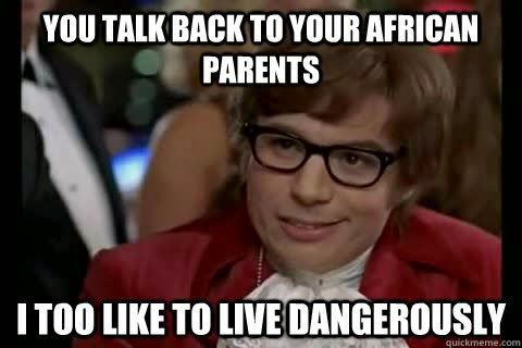Image result for typical african parents