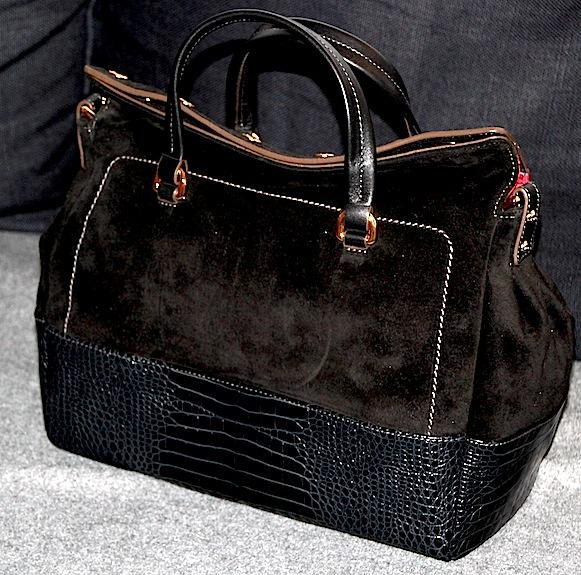 sac furla modele mara noir en cuir