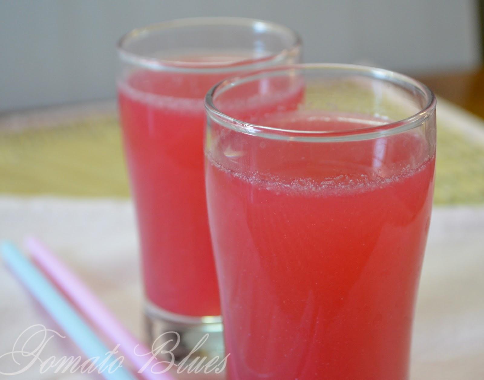 Pomegranate Spritzer - Mocktail Recipes - Tomato Blues