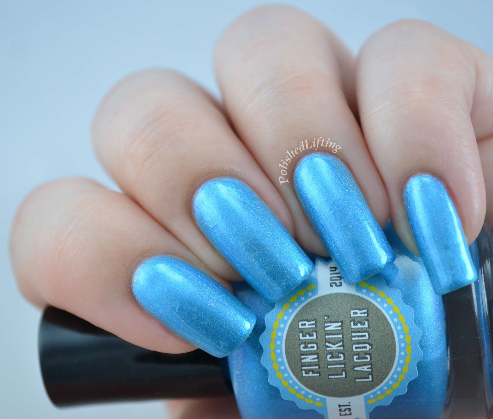 Finger Lickin Lacquer Blue Jean Baby Totally Rad