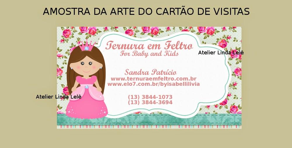 Populares Arte do Cartão de Visitas + Imagem Marca d'água - Encomenda  OF47