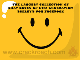 Largest Collection of Facebook Chat codes for Latest Smileys & Emoticons