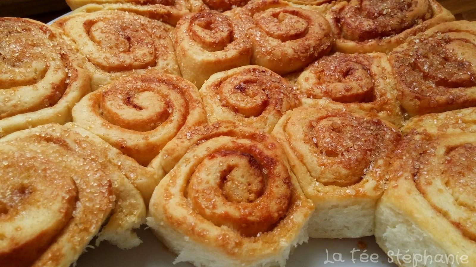 kanelbulle ou cinnamon rolls brioches roul es la