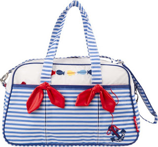 Baby Girl Bag & Changing Mat - Tuc Tuc Marine Treasures