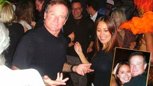 Carla, la tarijeña que bailó con Robin Williams