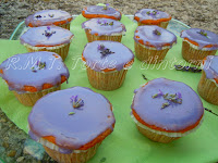 arancia e lavanda per gustose cupcakes