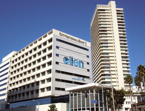Giant Ellen season 12 billboard Sunset Strip