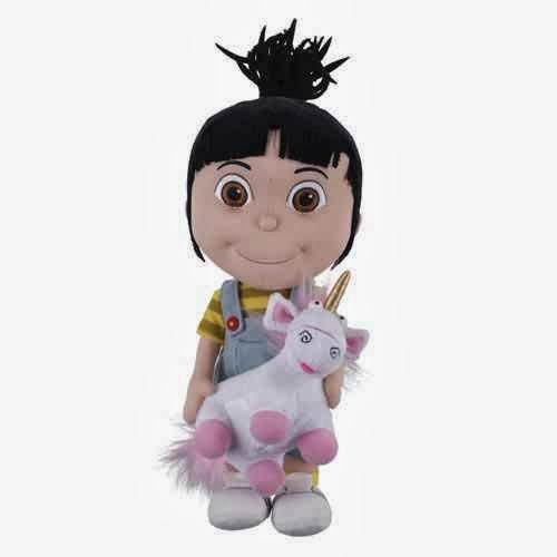 Amigurumi Unicornio Mi Villano Favorito : Peluche Agnes con Unicornio de Gru Mi Villano Favorito ...