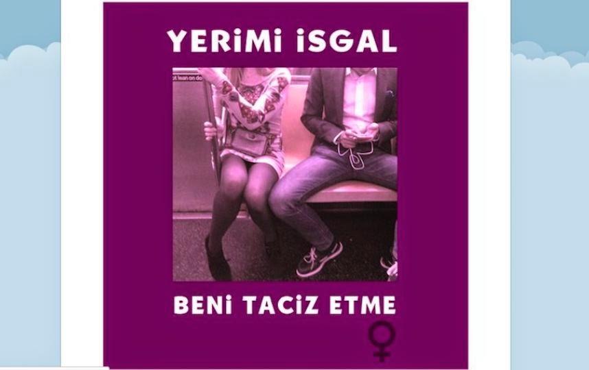 En Turquie, les femmes dénoncent les hommes qui écartent les jambes dans le métro